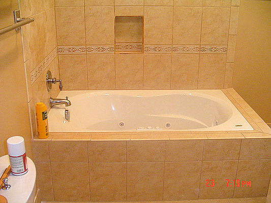 Bathroom remodeling photos dayton cincinnati kettering for Bath remodel dayton ohio